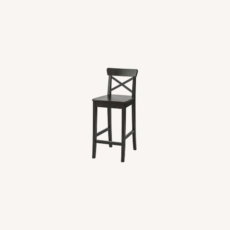 IKEA Barstool with Backrest - image-0