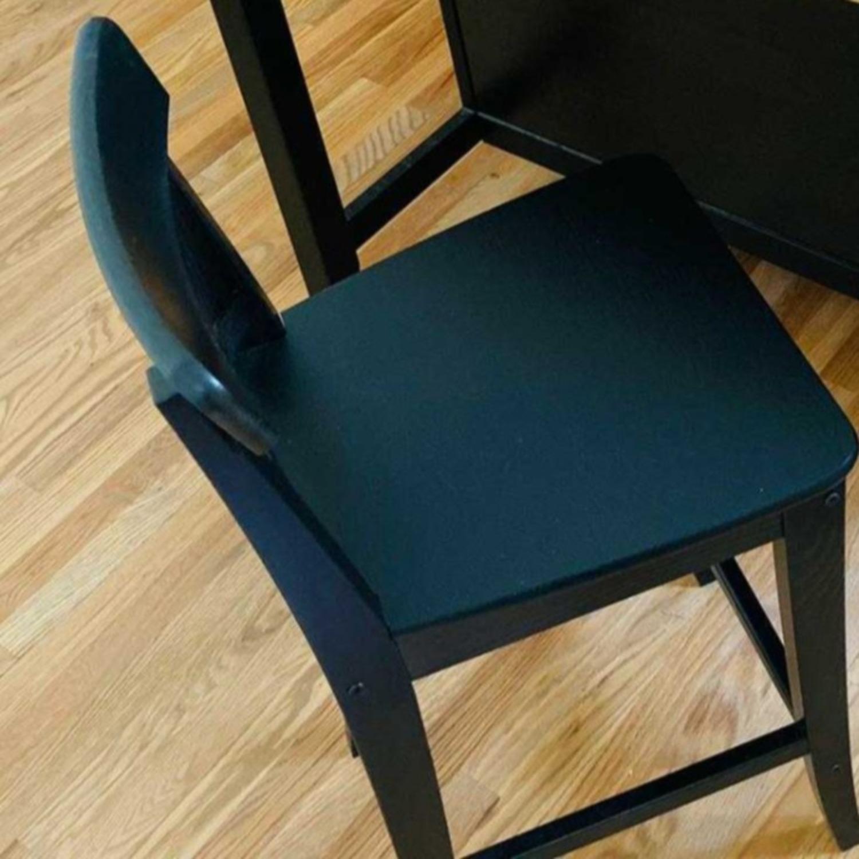 IKEA Barstool with Backrest - image-2