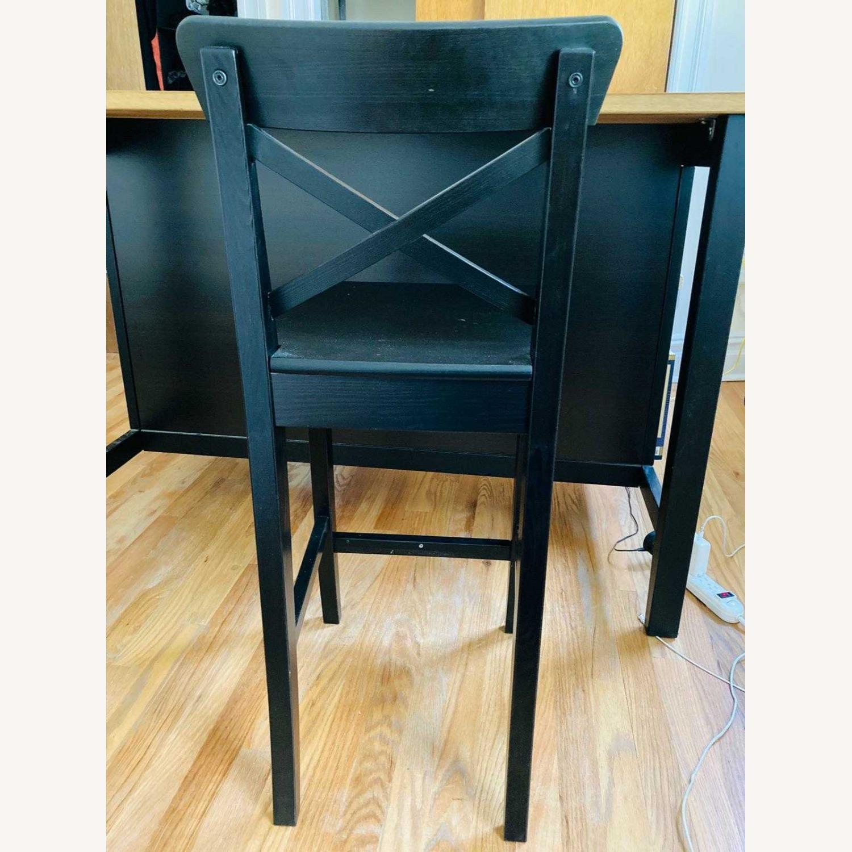 IKEA Barstool with Backrest - image-3