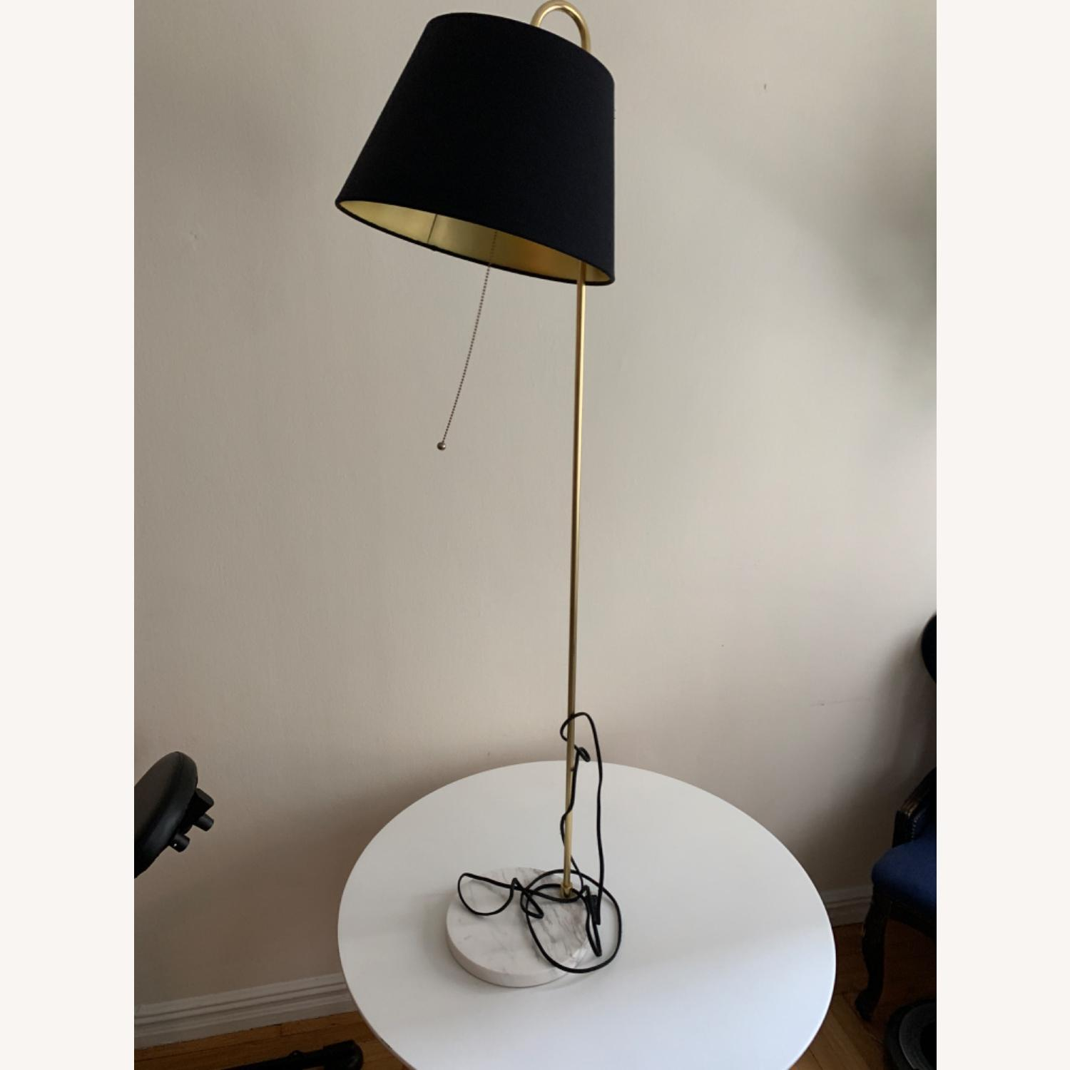 Rejuvenation Floor Lamp w Black Shade - image-1