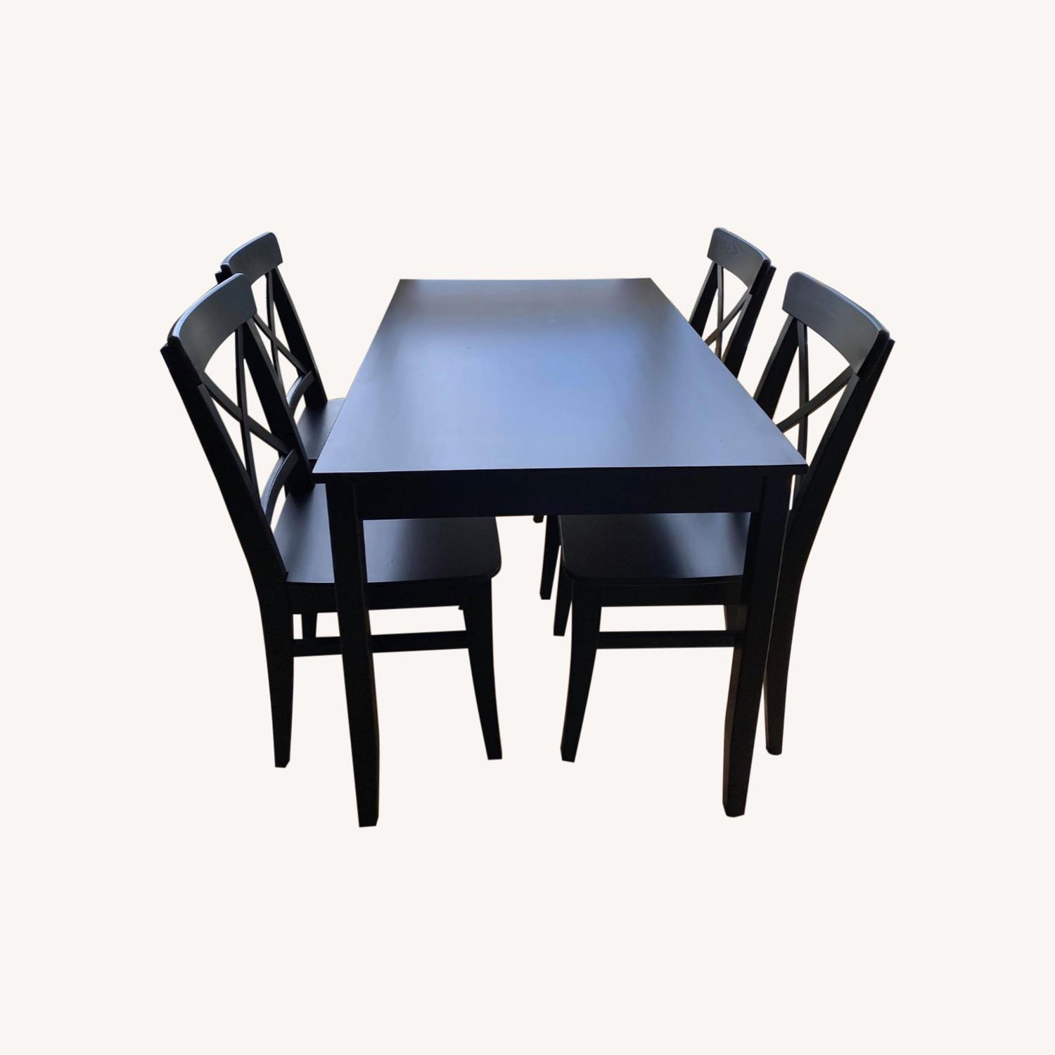 Picture of: Ikea Dining Table Set Aptdeco