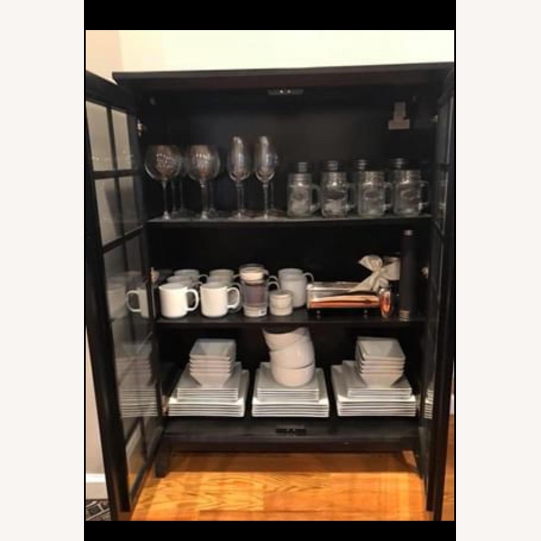 Pottery Barn China Cabinet - image-2