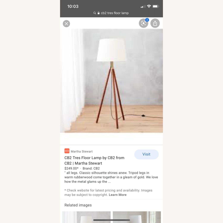 CB2 Tres Floor Lamp - image-3