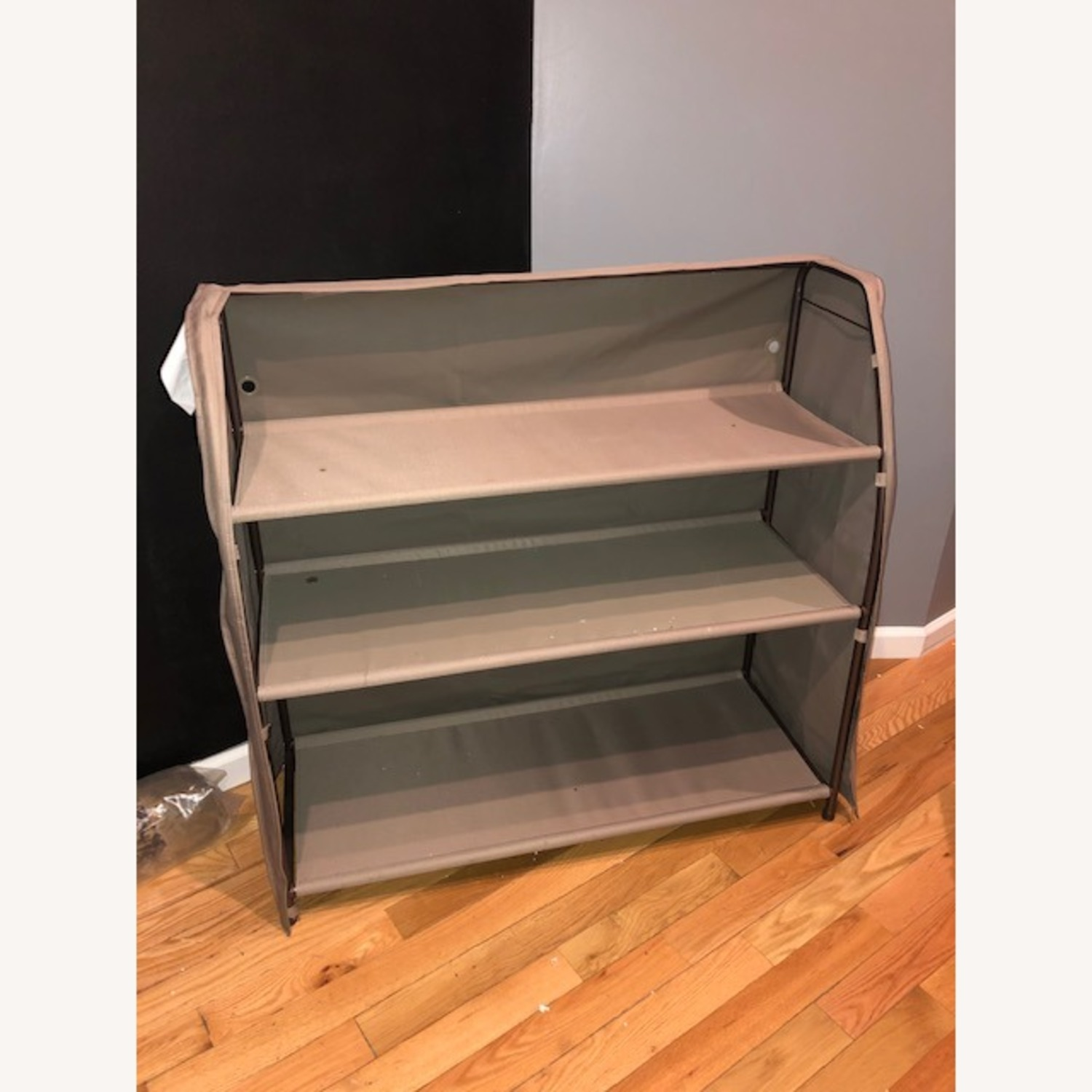 Large Gray Storage Organizer - image-1