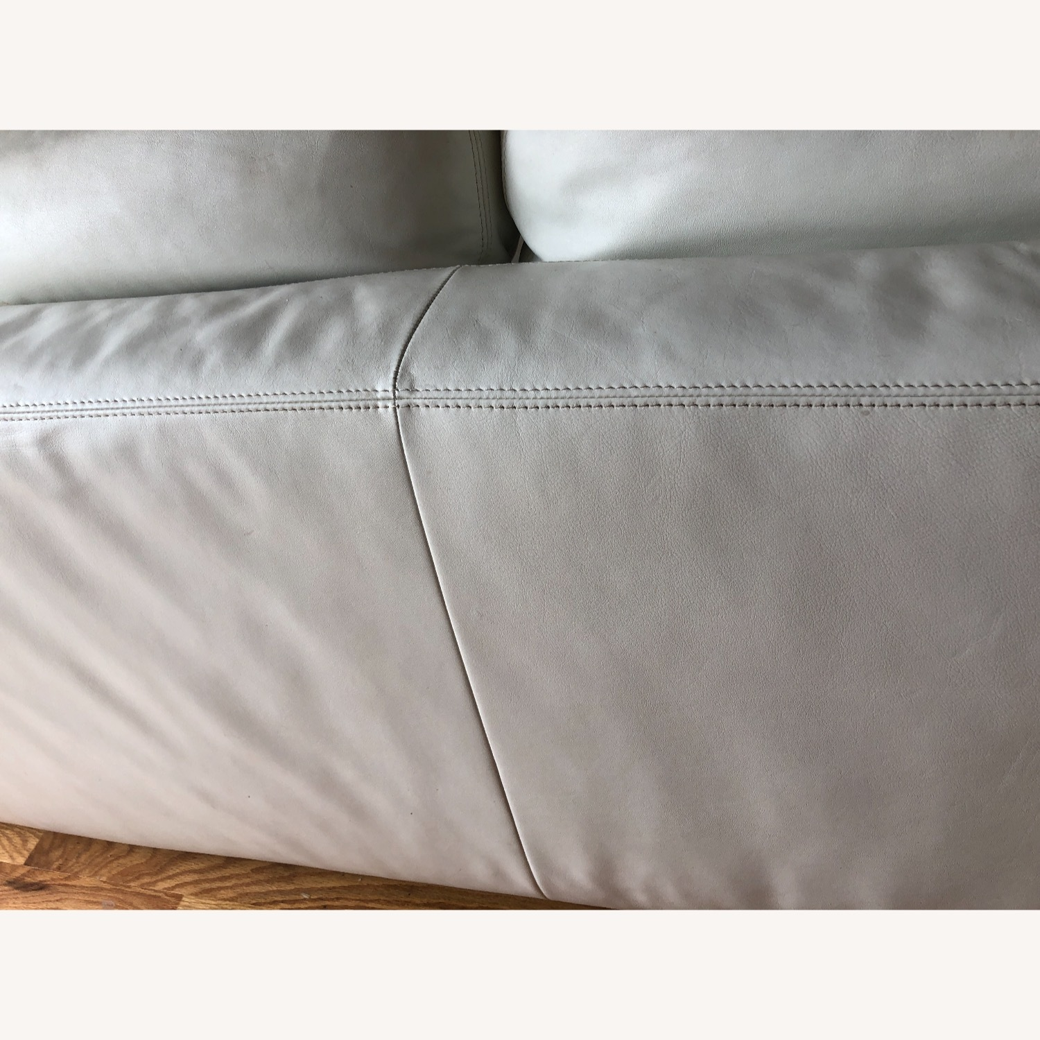 Design Within Reach Reid Sofa White Leather - image-15