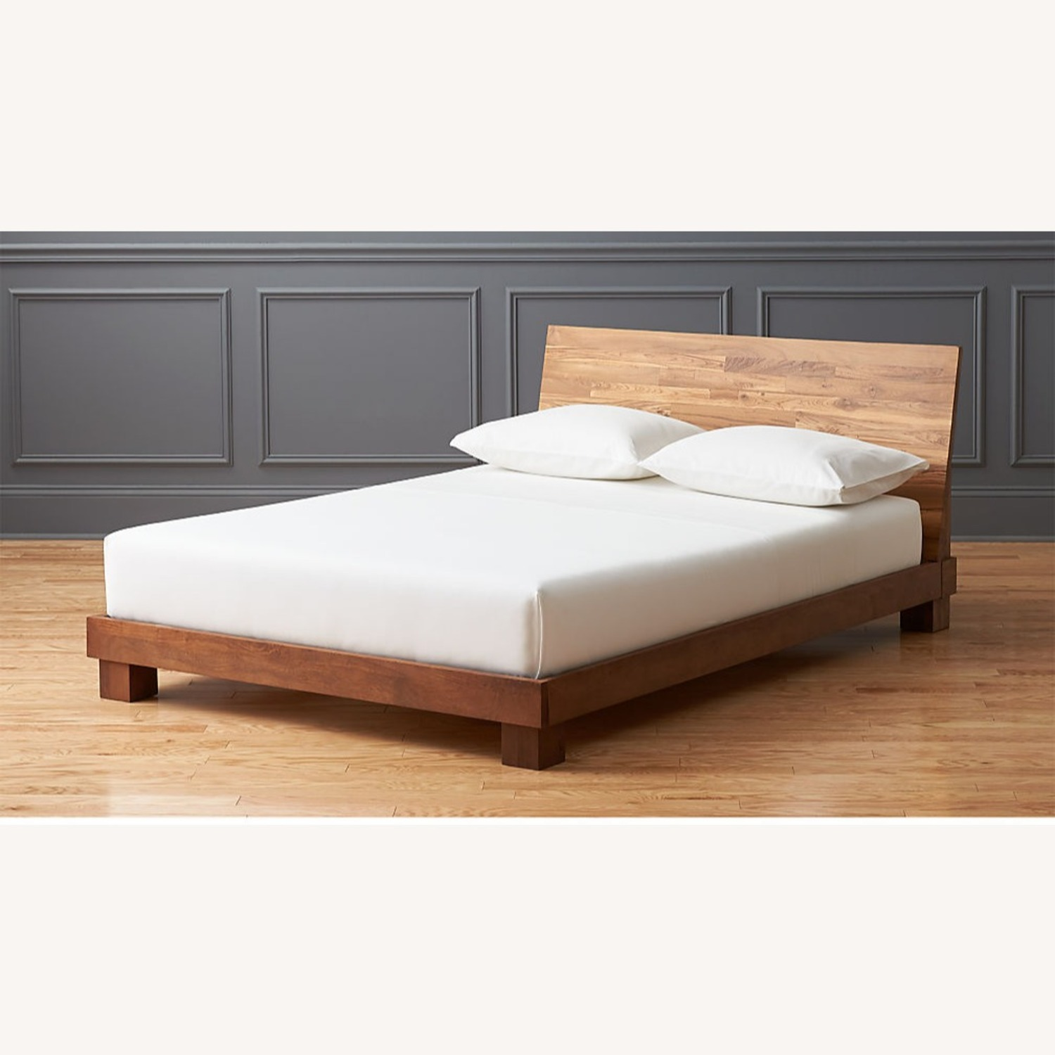 CB2 Dondra Teak Full Bed - image-3