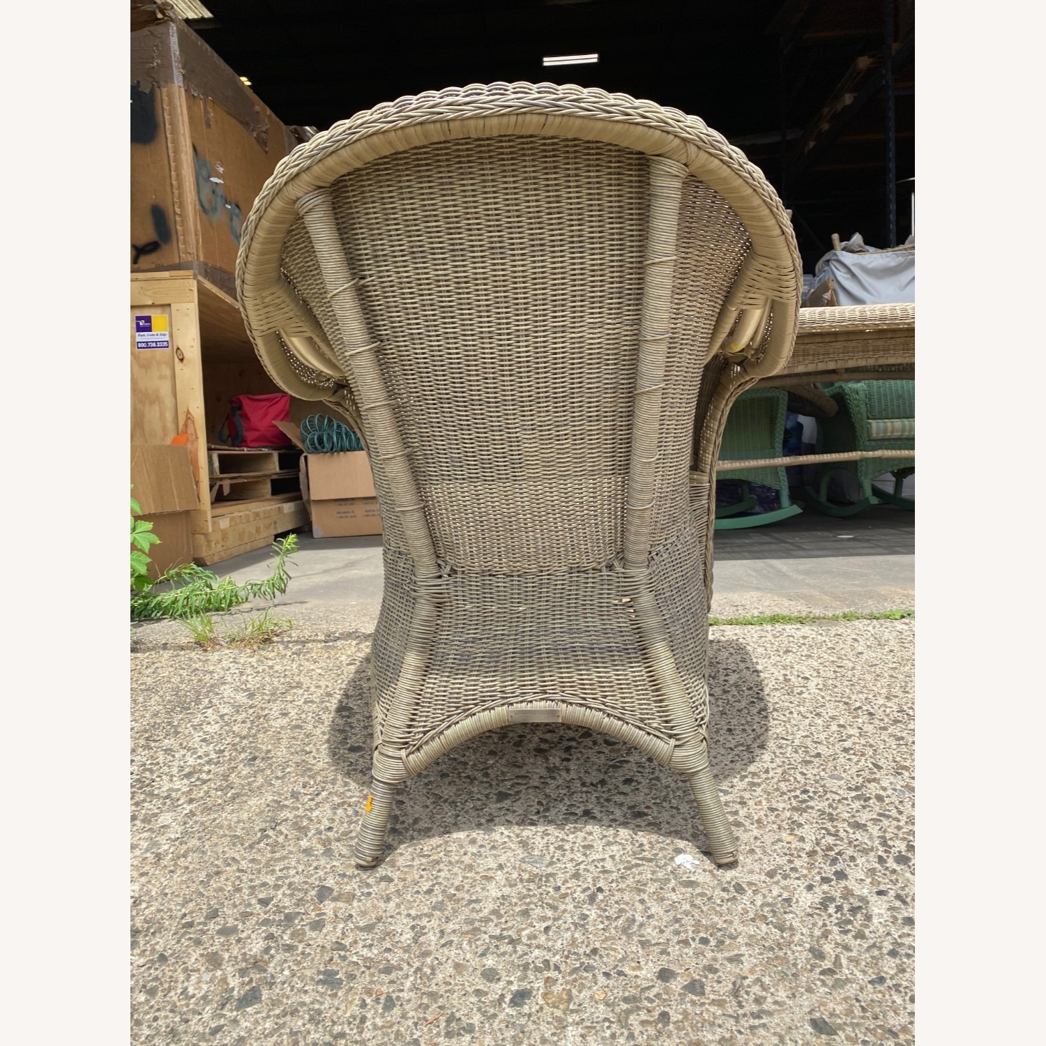 Two Restoration Hardware Outdoor Lounge Chairs - image-2