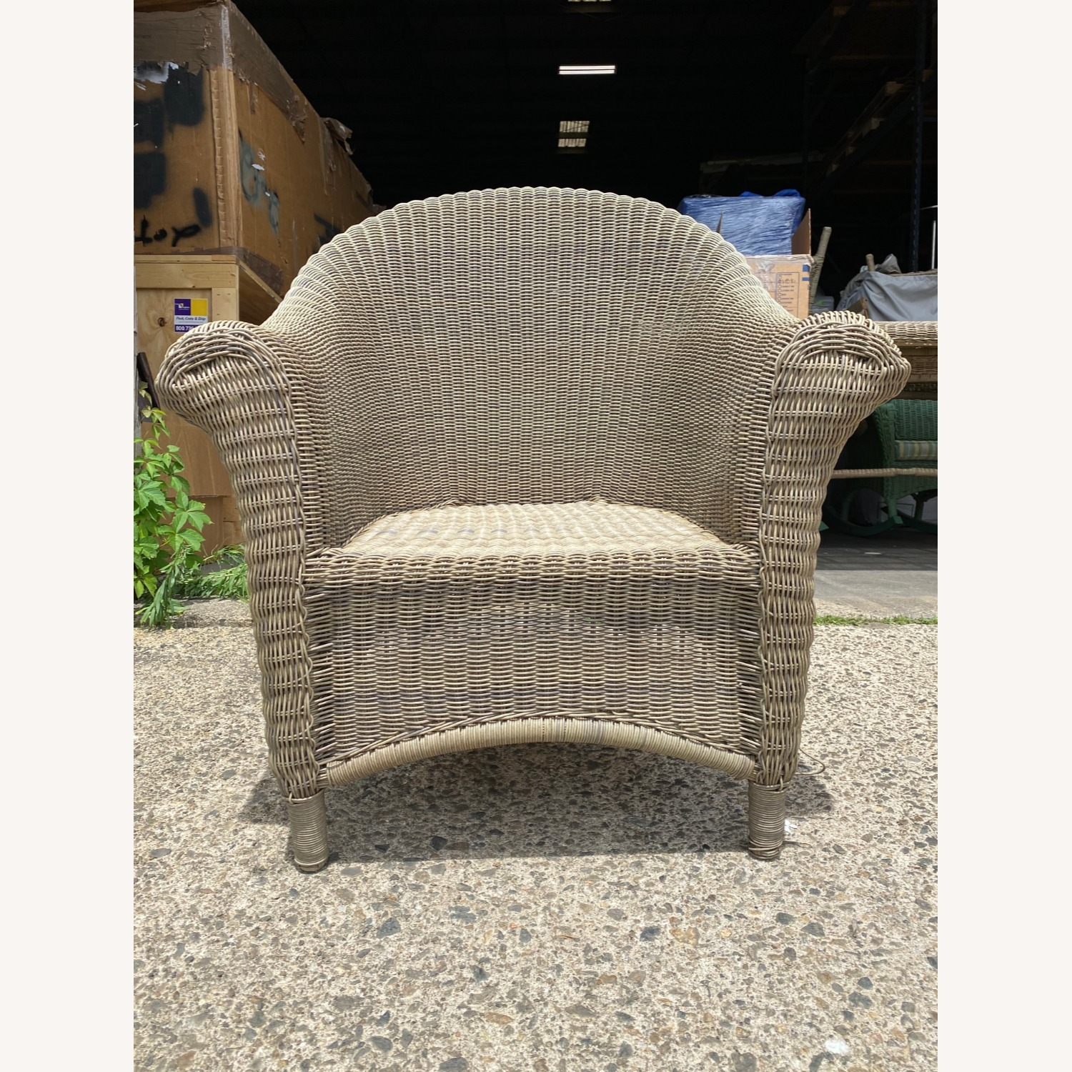 Two Restoration Hardware Outdoor Lounge Chairs - image-3