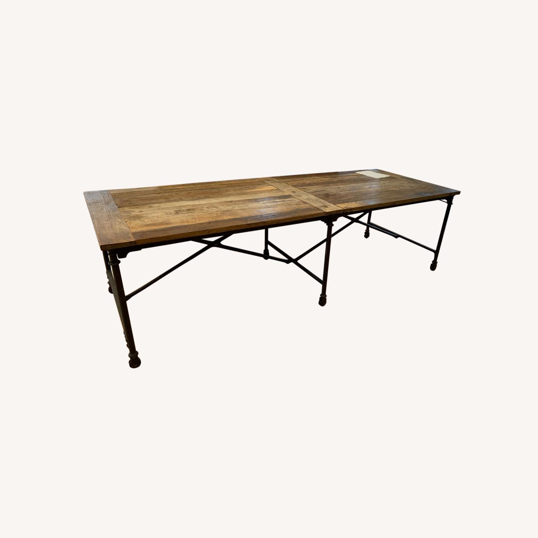 Restoration Hardware Flatiron Long Table - image-0