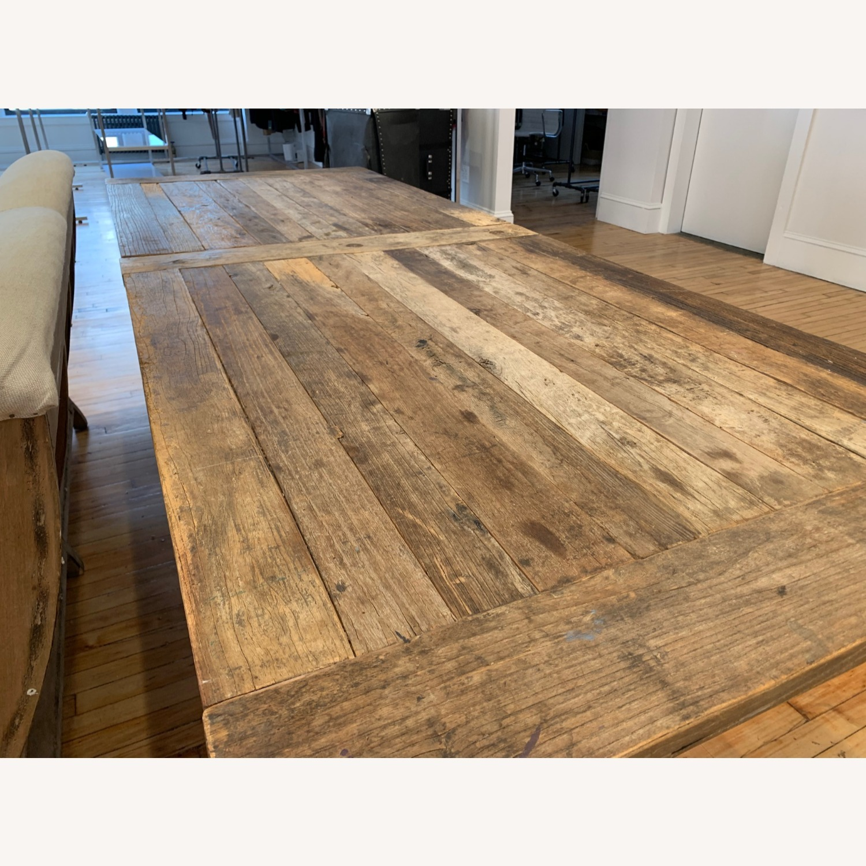 Restoration Hardware Flatiron Long Table - image-2