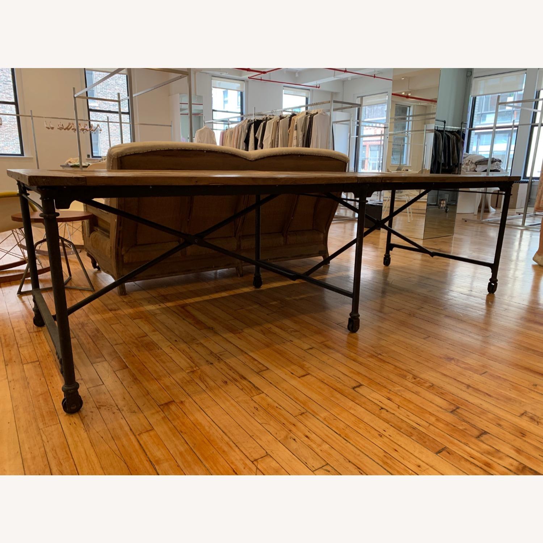 Restoration Hardware Flatiron Long Table - image-3