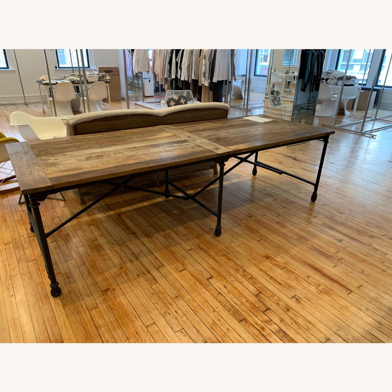 Restoration Hardware Flatiron Long Table - image-1