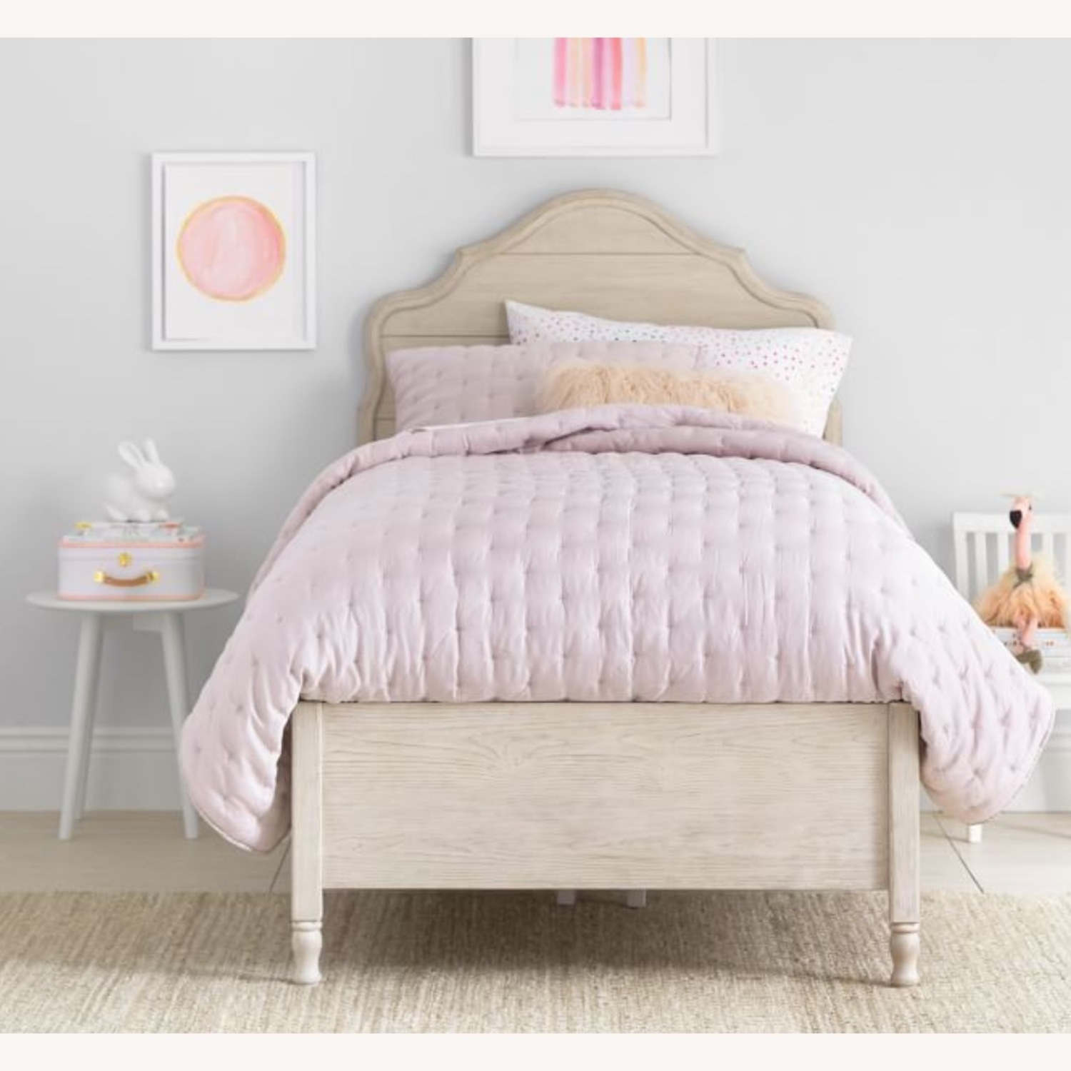 Pottery Barn Twin Bed - Juliette Collection - image-0
