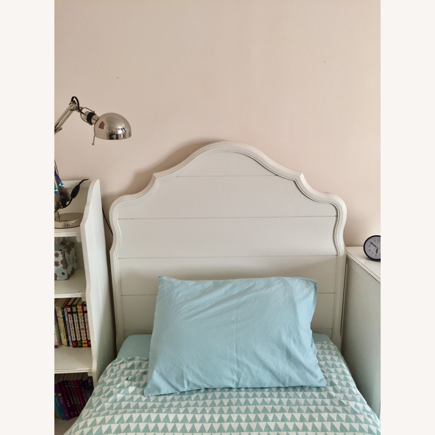 Pottery Barn Twin Bed - Juliette Collection - image-3