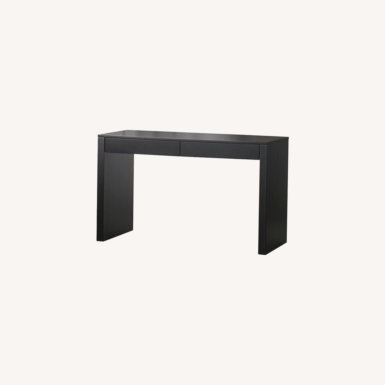 CB2 Black Runway Desk - image-0