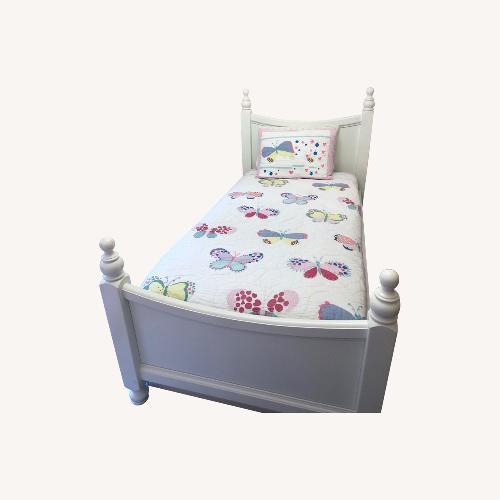 Used Bellini White Jonah Bed for sale on AptDeco