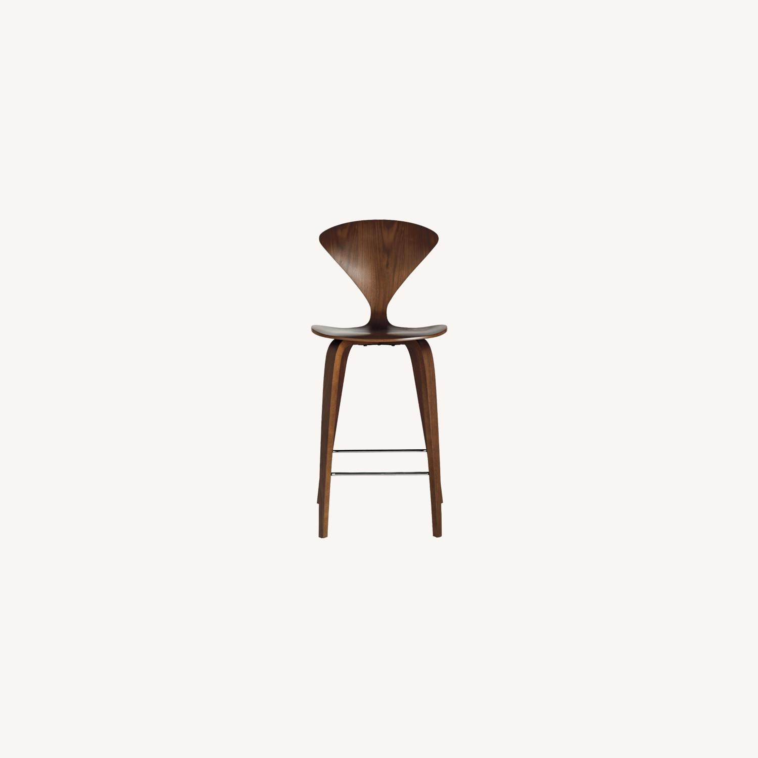 Design Within Reach Set of 4 Cherner Counter Stools - image-0