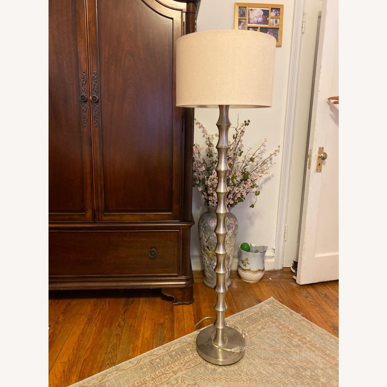 Home Goods Modern Metal Floor Lamp - image-1