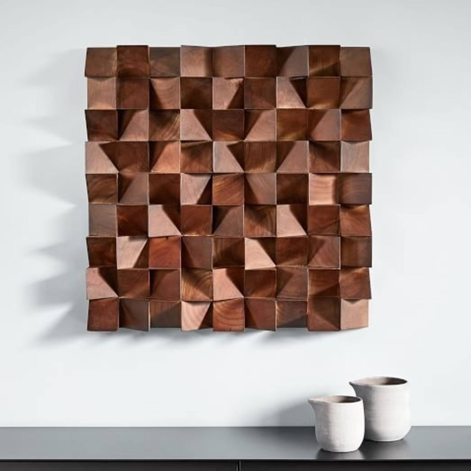 West Elm Pictography Wall Art - image-1