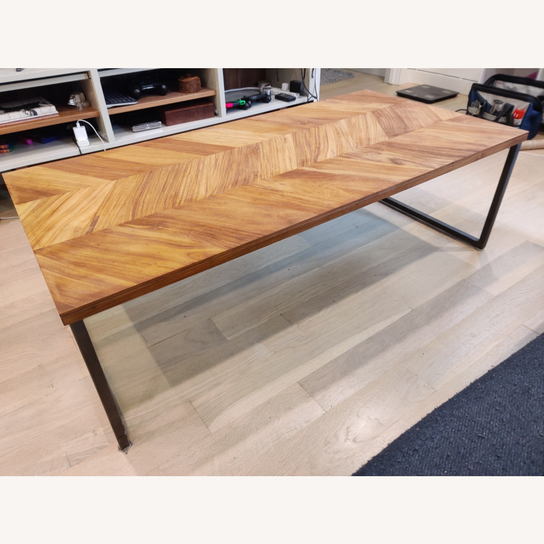 CB2 Chevron Coffee Table - image-2
