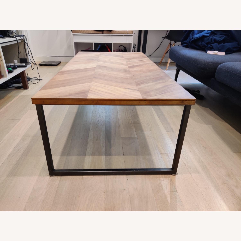 CB2 Chevron Coffee Table - image-3