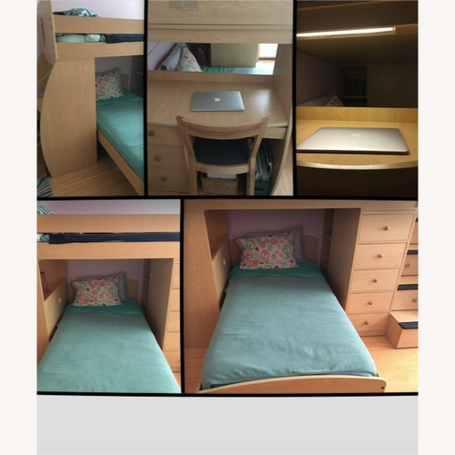 Used Behr's Bunk Beds with Desk, Stairs and Drawers for sale on AptDeco