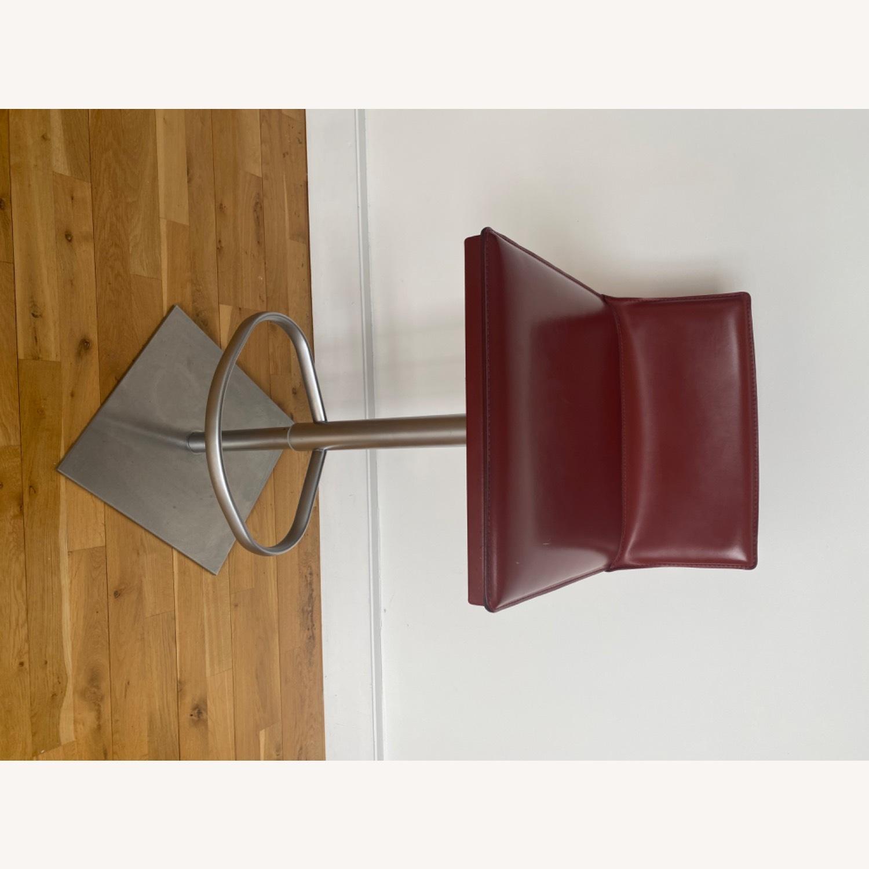 Frag Italian Red Leather Bar Stools - image-6