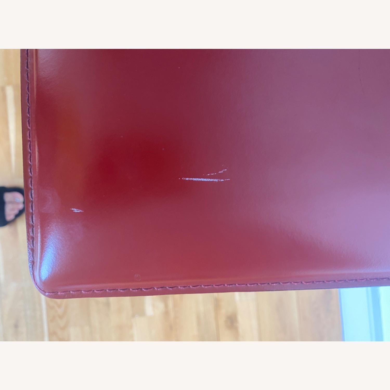 Frag Italian Red Leather Bar Stools - image-4