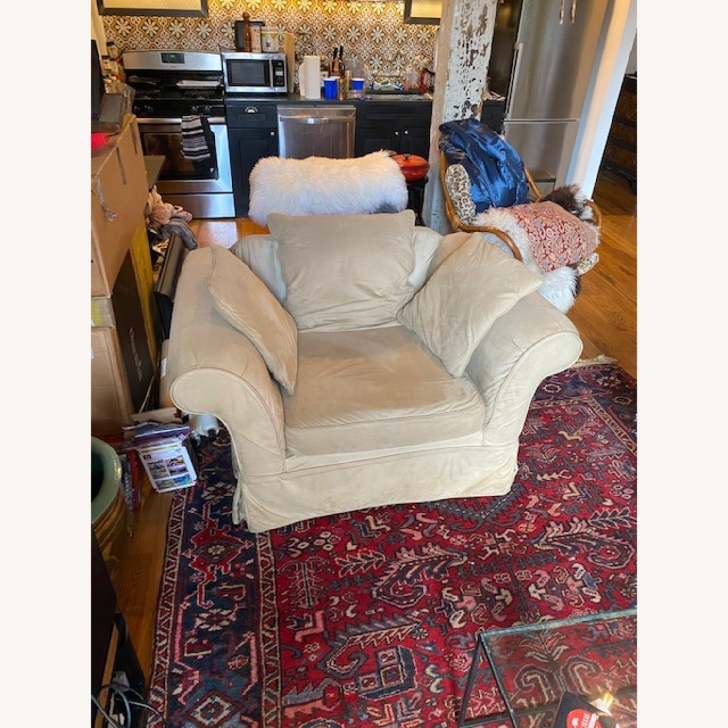Pottery Barn Grand Armchair - image-2