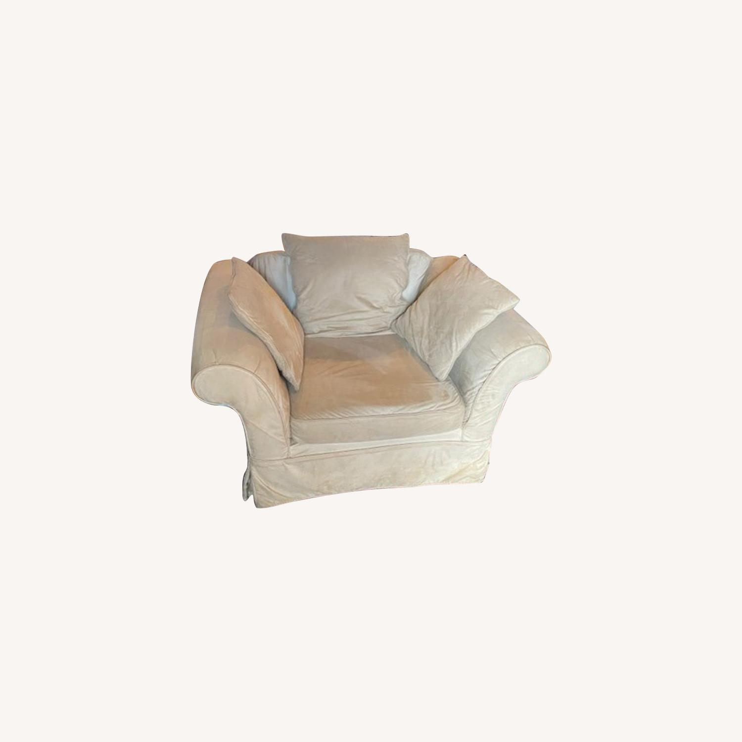 Pottery Barn Grand Armchair - image-0