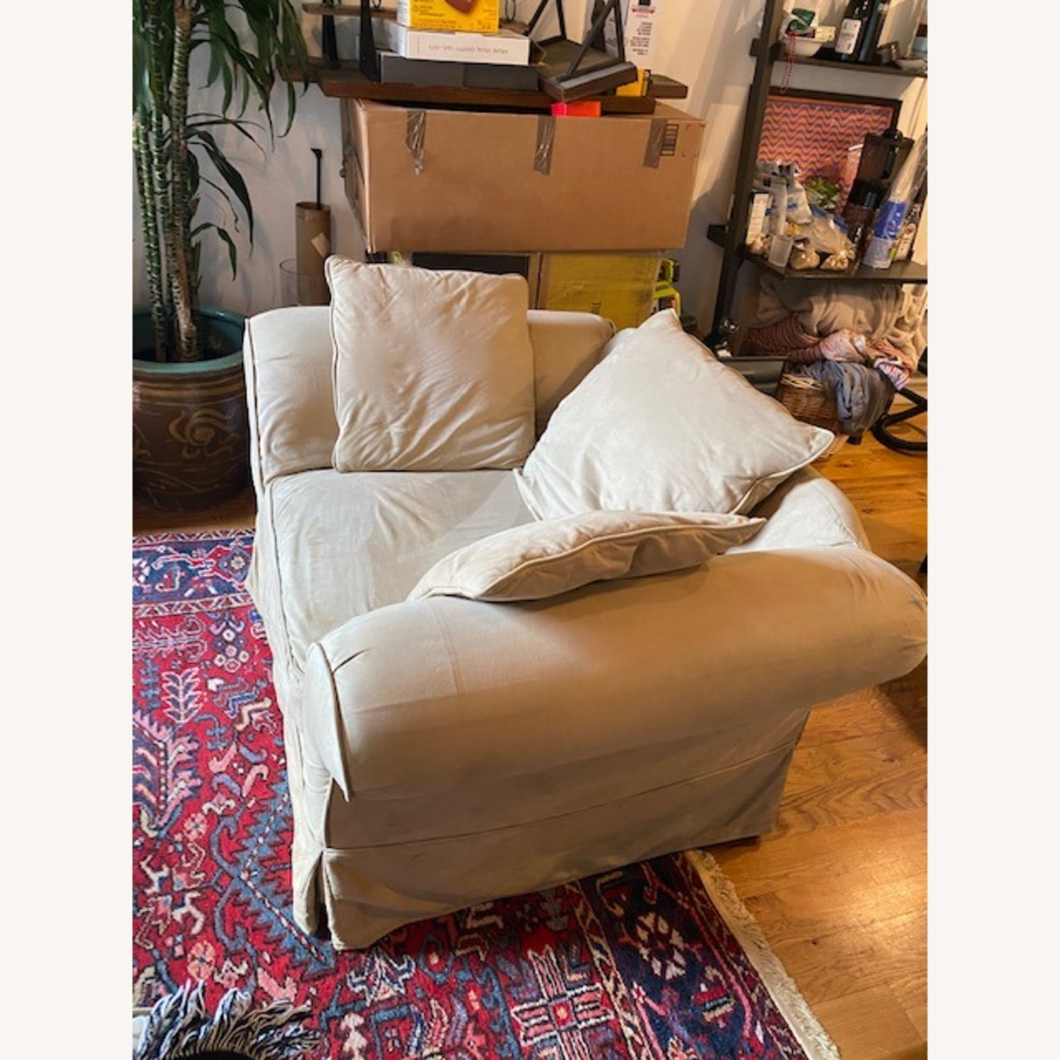 Pottery Barn Grand Armchair - image-1