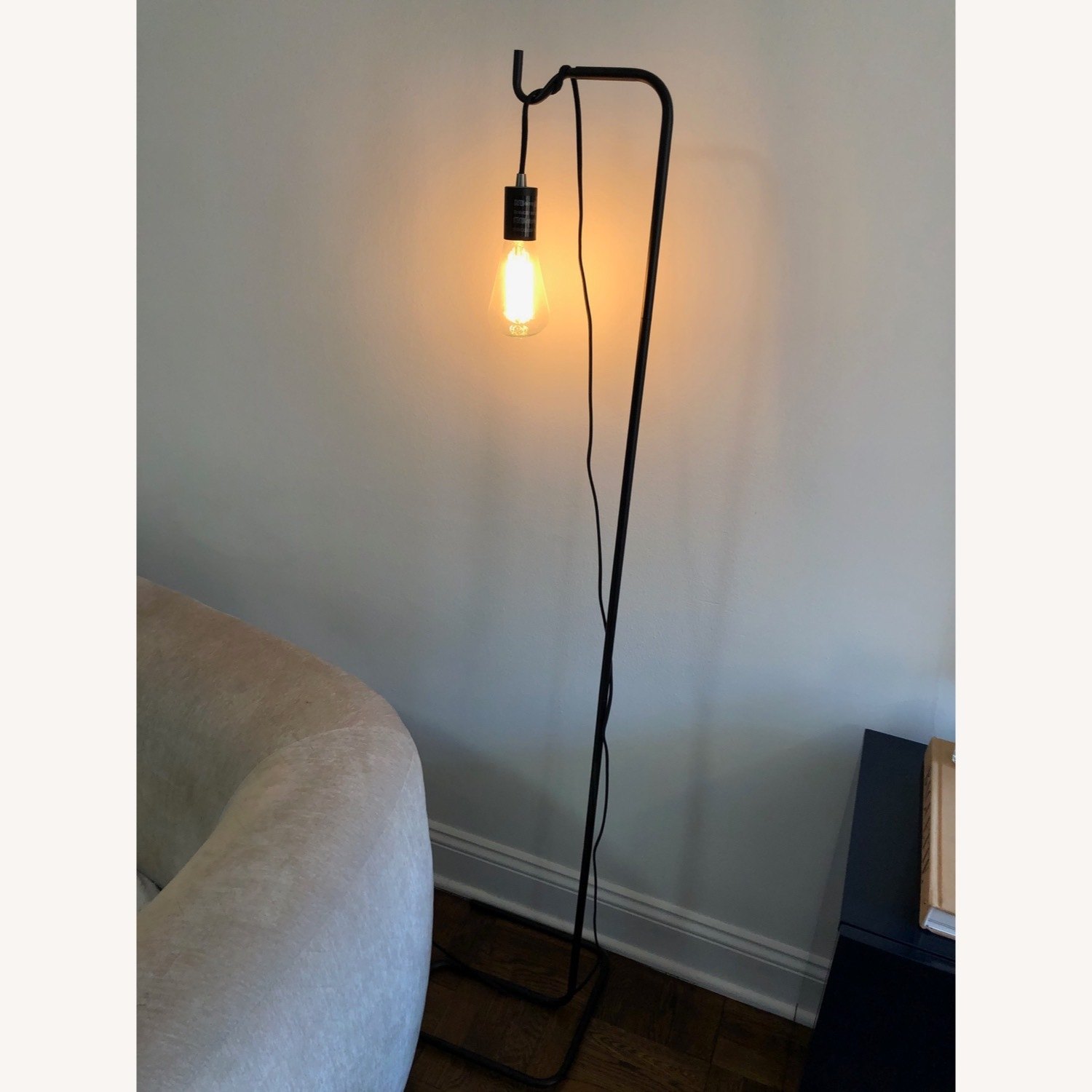 Black Industrial Floor Lamp - image-4