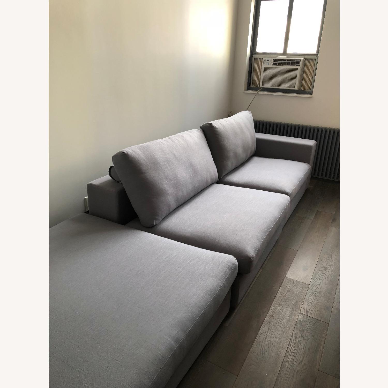 Article Cube Glacier Blue Modular Sofa - image-2