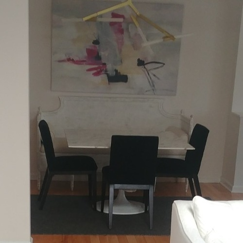 Used Bloomingdale's Dining Room Set with Setai for sale on AptDeco