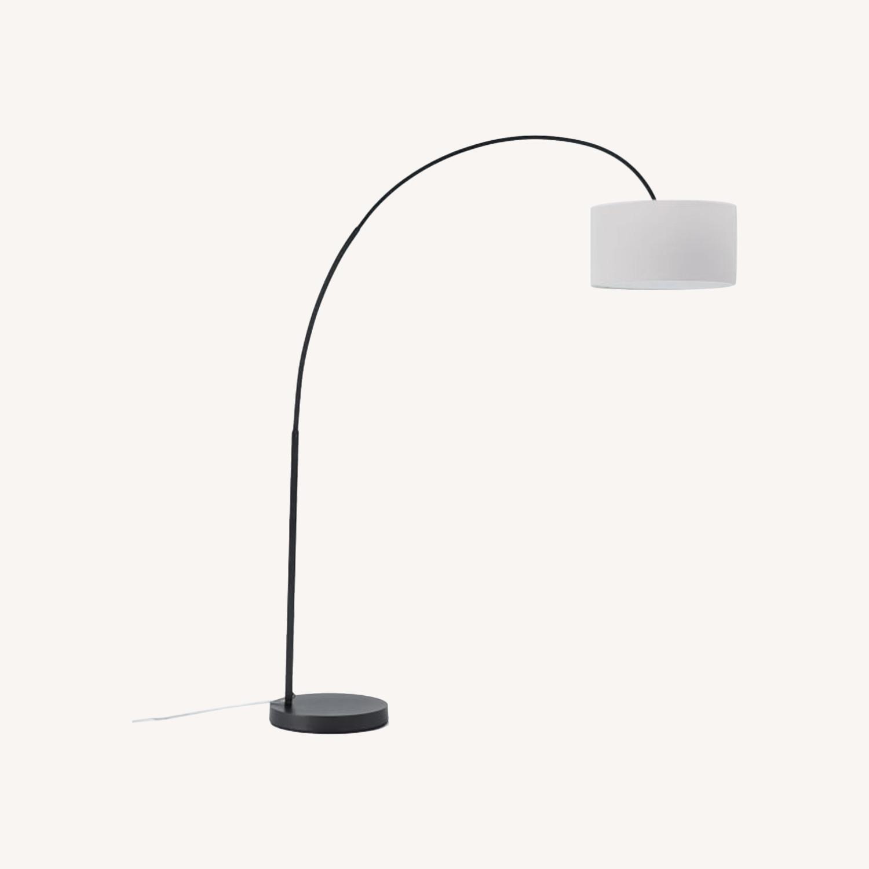 West Elm Arching Floor Lamp - image-0