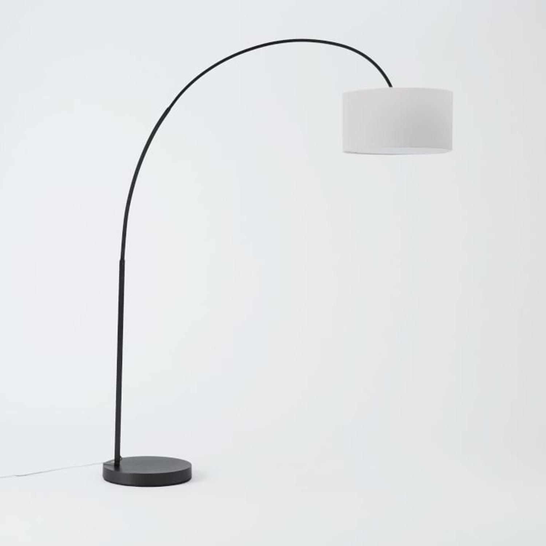 West Elm Arching Floor Lamp - image-1
