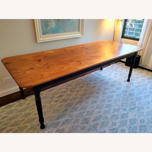 Used Nichols & Stone Vintage Dining Table for sale on AptDeco