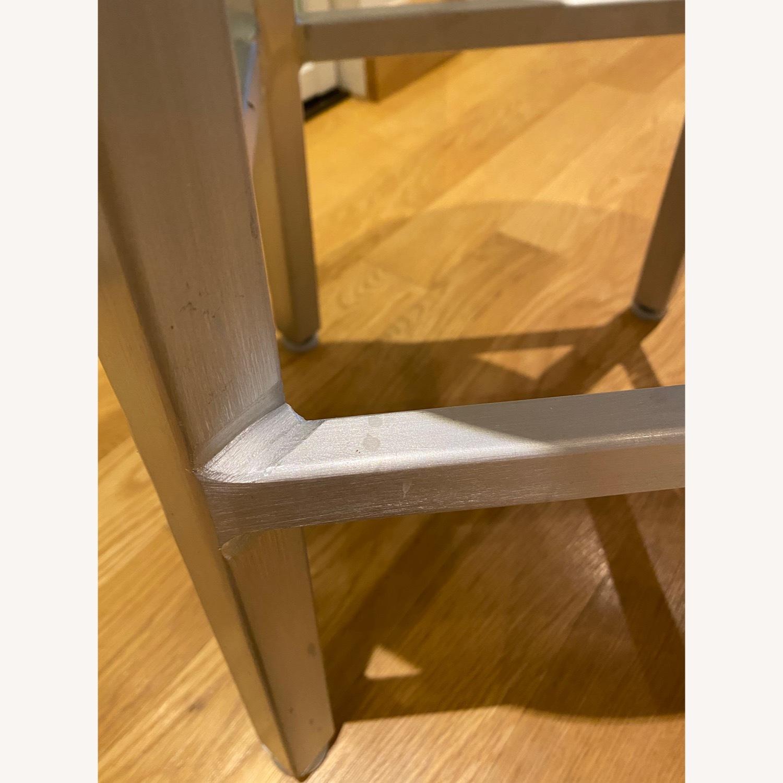 Crate & Barrel Spin Swivel Bar Stools - image-4