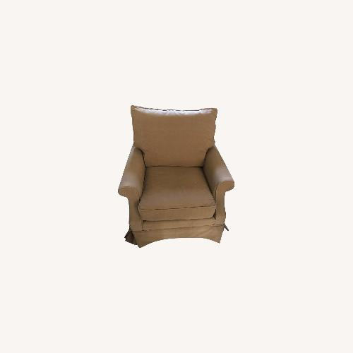 Used Mitchell Gold & Bob Williams Gigi Chair With Skirt for sale on AptDeco