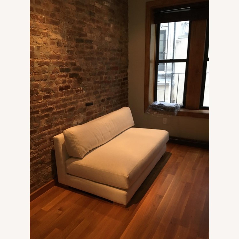 CB2 Piazza Snow Apartment Sofa - image-1