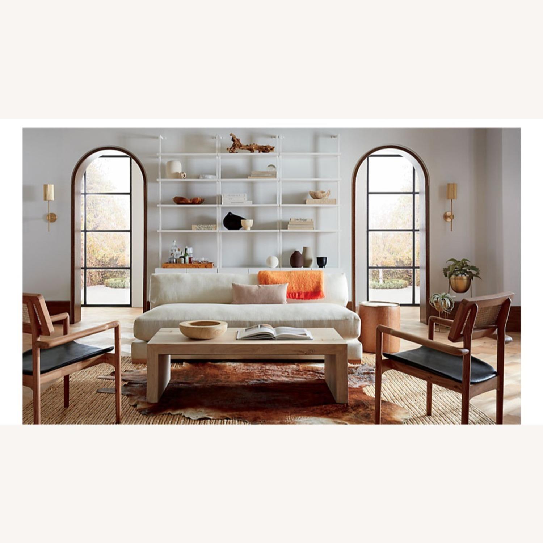 CB2 Piazza Snow Apartment Sofa - image-4