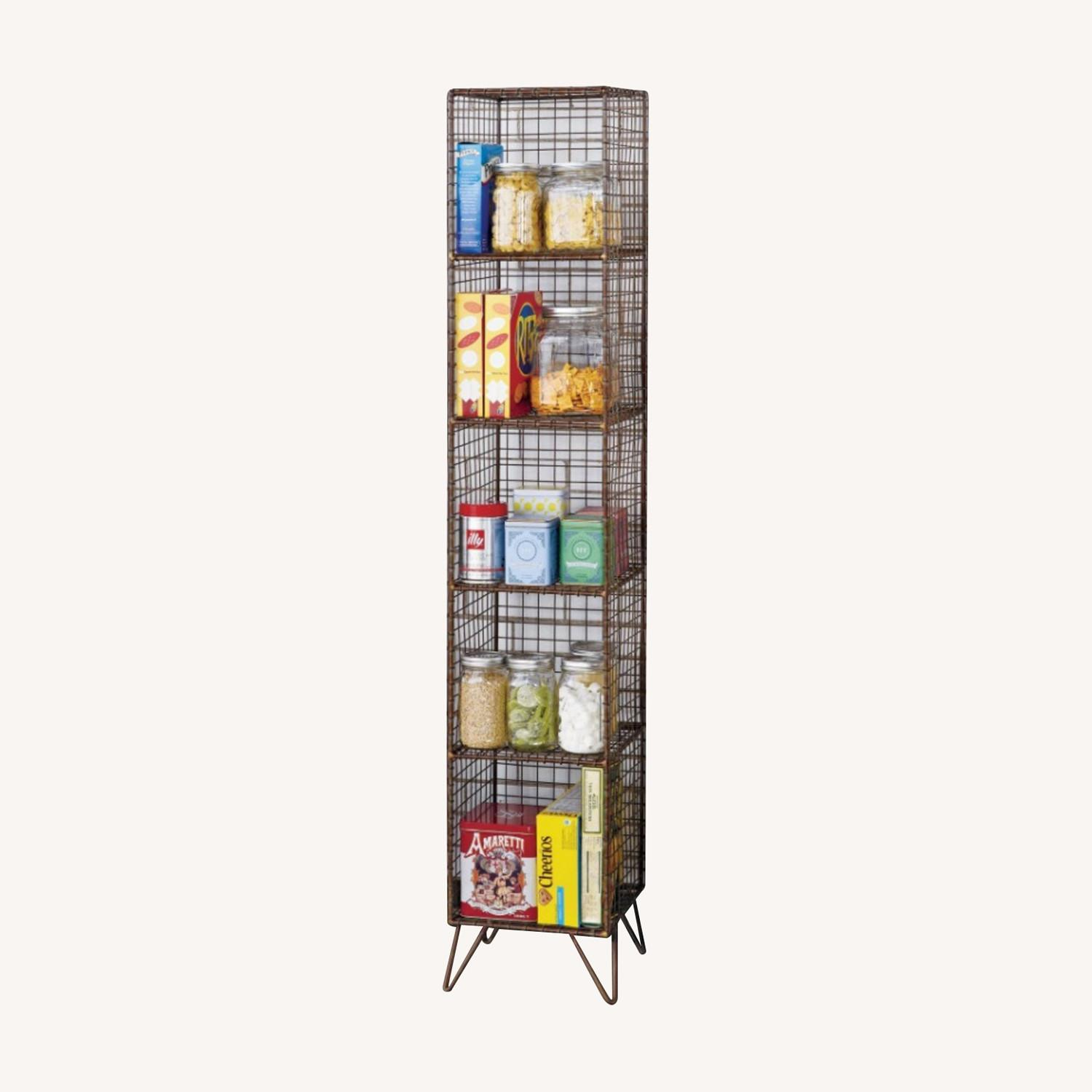 CB2 Coop Wire Tower Shelves (Set of 2) - image-0
