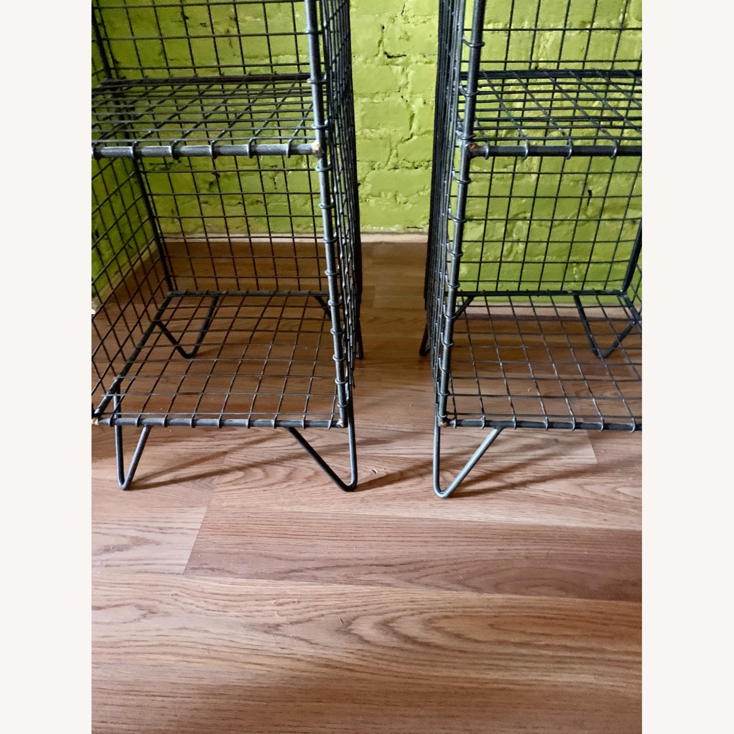 CB2 Coop Wire Tower Shelves (Set of 2) - image-4