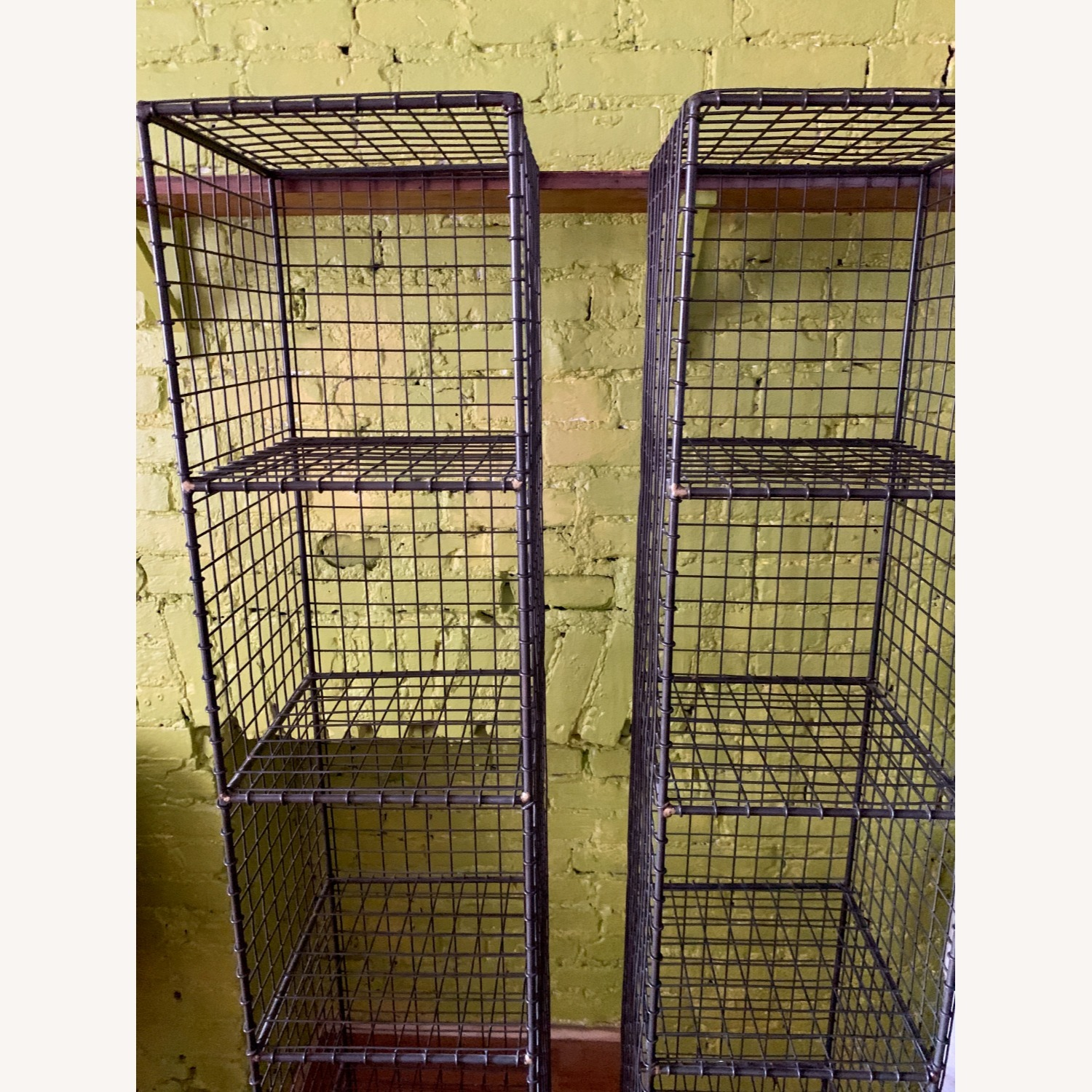 CB2 Coop Wire Tower Shelves (Set of 2) - image-3