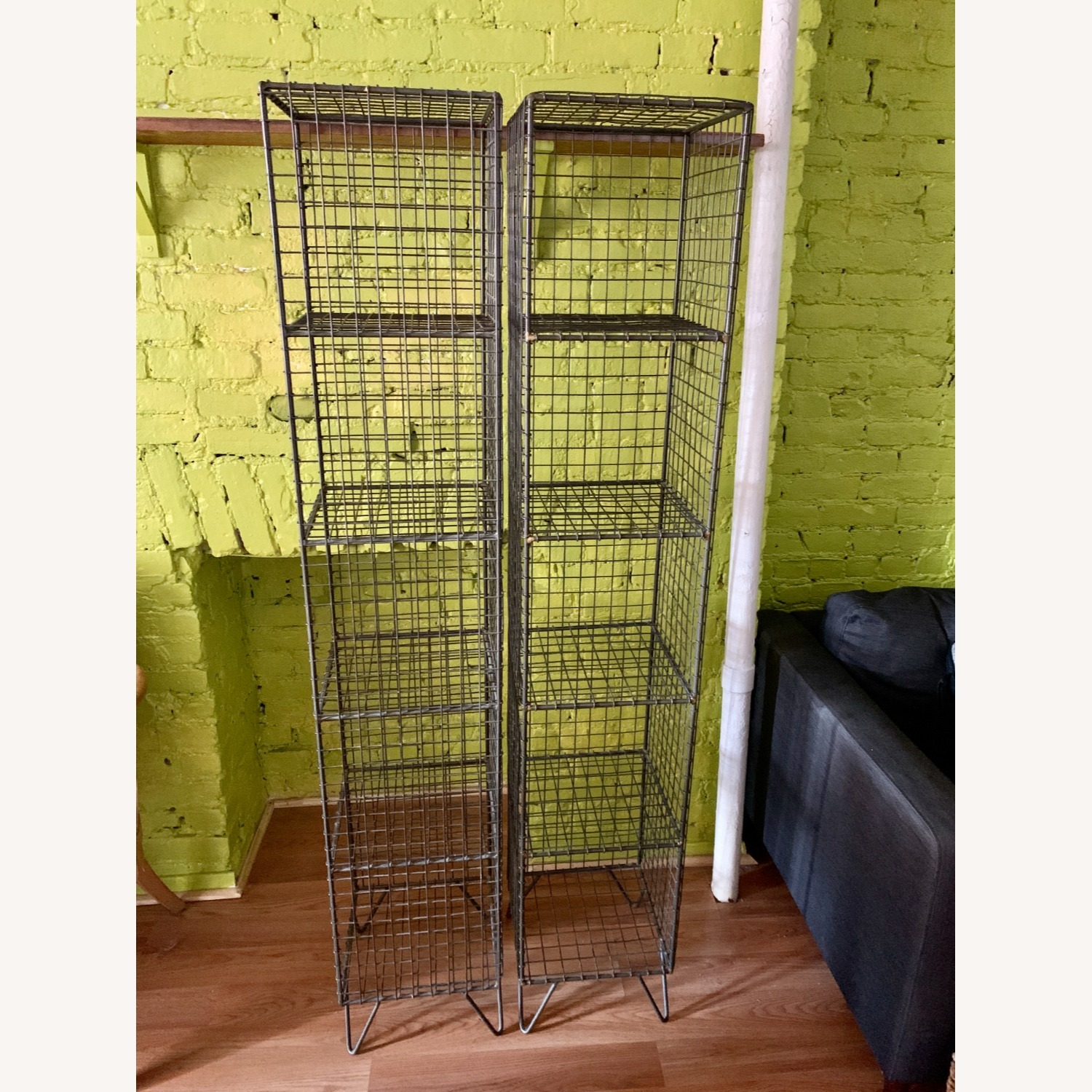 CB2 Coop Wire Tower Shelves (Set of 2) - image-7