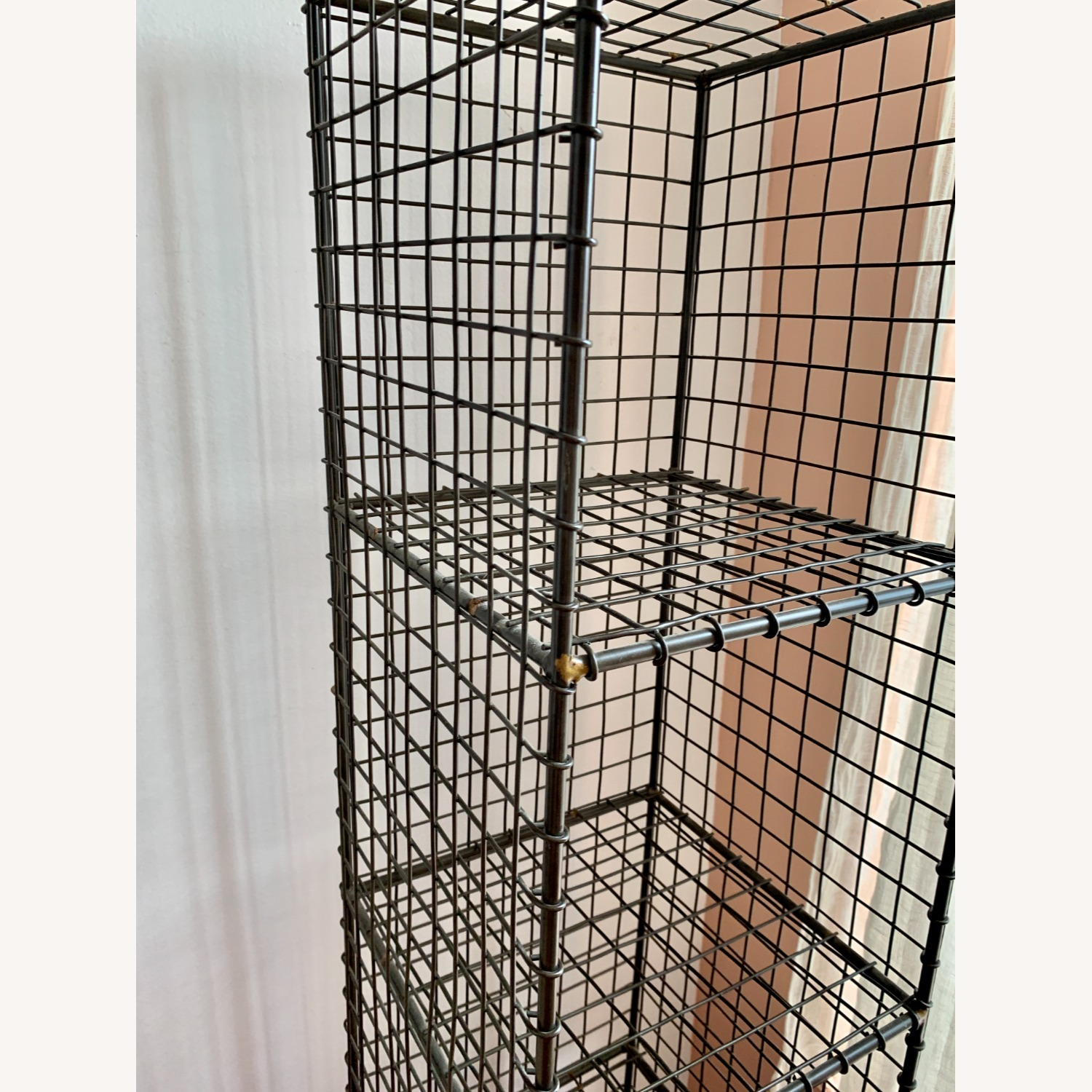 CB2 Coop Wire Tower Shelves (Set of 2) - image-6