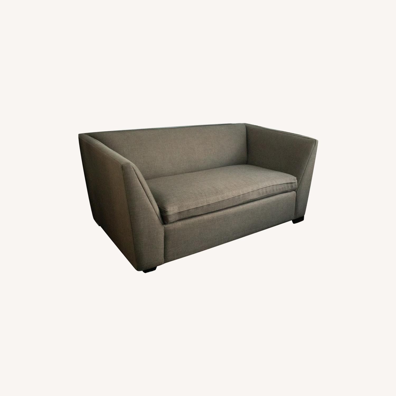 CB2 Julius Twin Sleeper Loveseat Sofa - image-0