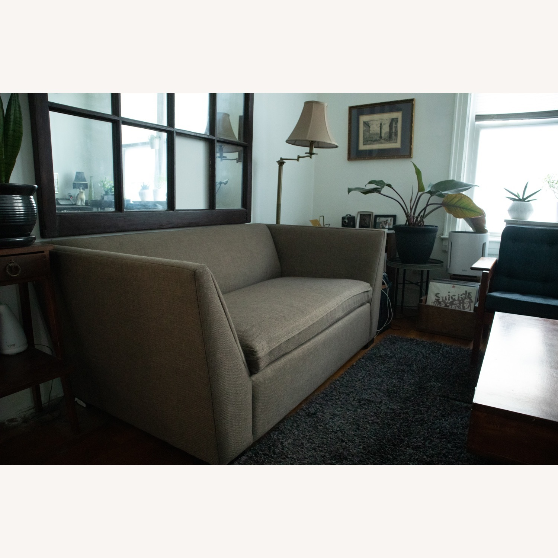 CB2 Julius Twin Sleeper Loveseat Sofa - image-2