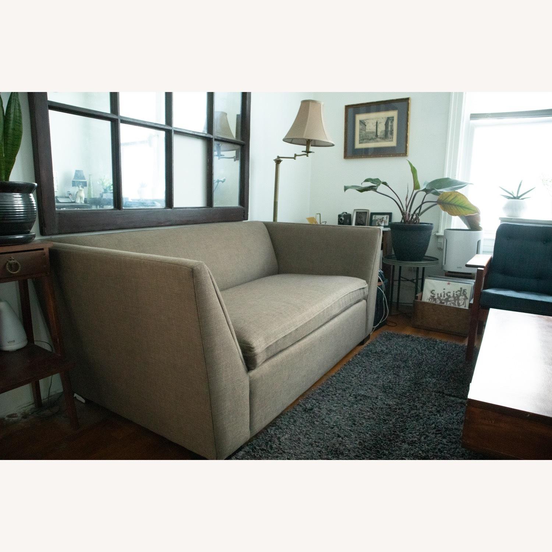 CB2 Julius Twin Sleeper Loveseat Sofa - image-5