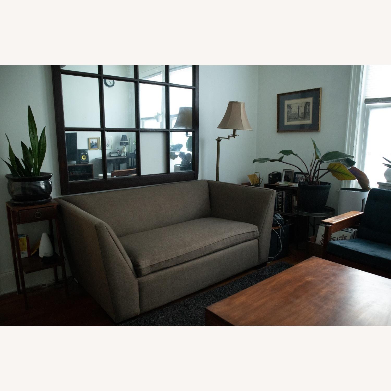 CB2 Julius Twin Sleeper Loveseat Sofa - image-1